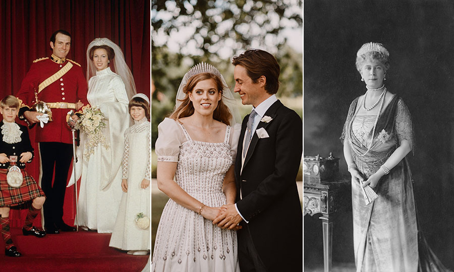 All The Times Other Royals Have Worn Princess Beatrice S Wedding