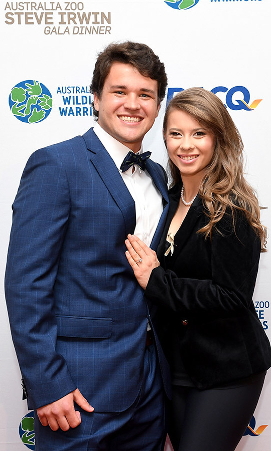 <h2>Bindi Irwin and Chandler Powell</h2>