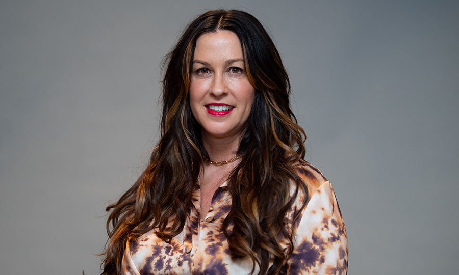 Alanis Morissette at a press event in Munich in February 2020. Photo: © Sven Hoppe/picture alliance via Getty Images