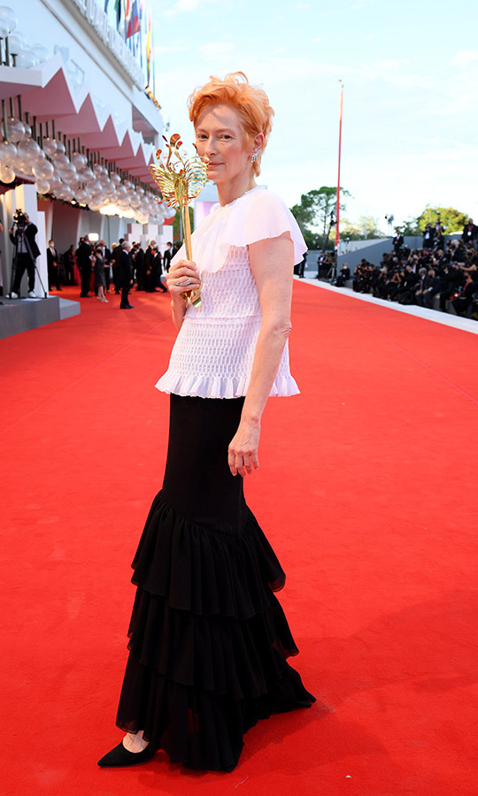 <h2>Tilda Swinton, Day One</h2>