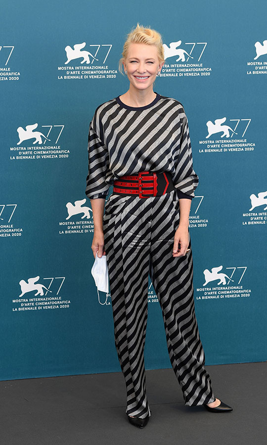 <h2>Cate Blanchett, Day One</h2>