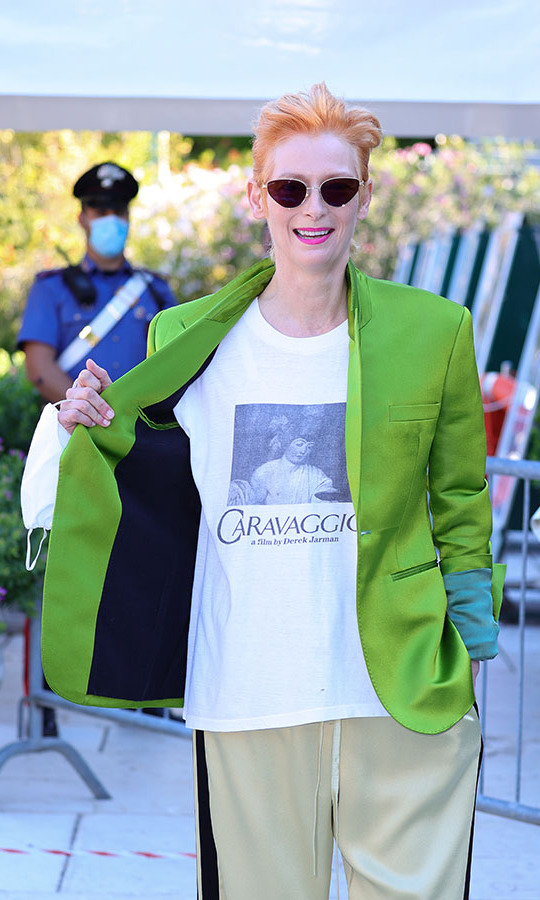 <h2>Tilda Swinton, Day Two</h2>