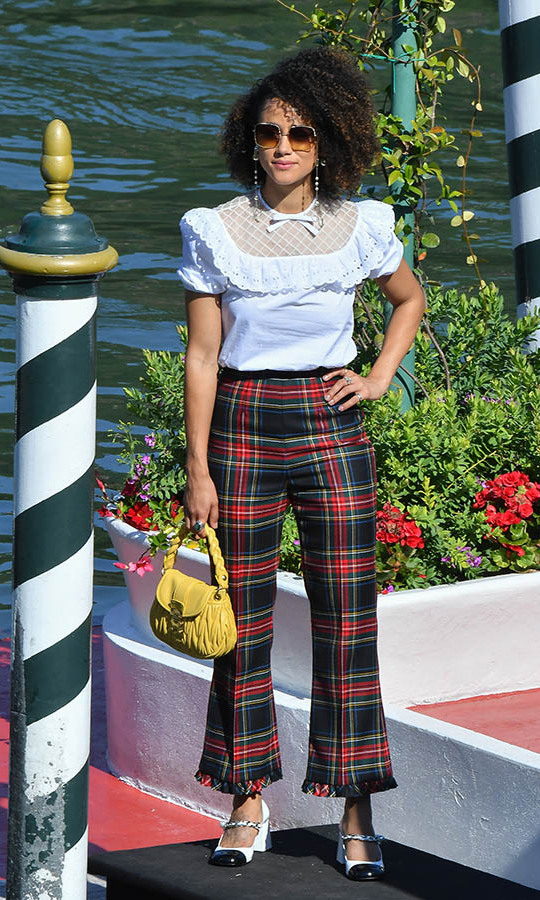 <h2>Nathalie Emmanuel, Day Seven</h2>