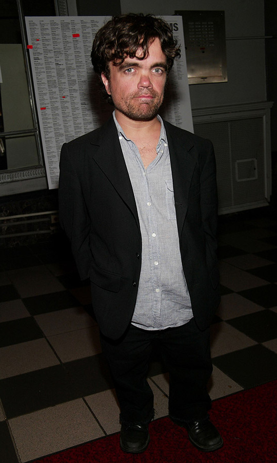 <h2>Peter Dinklage, 2003</h2>