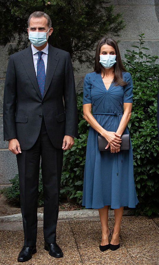 "On Sept. 17, the <a href=/tags/0/spanish-royals><strong>Spanish royals</strong></a> visited the ""Delibes"" exhibition at the National Library on Sept. 17 in Madrid. 