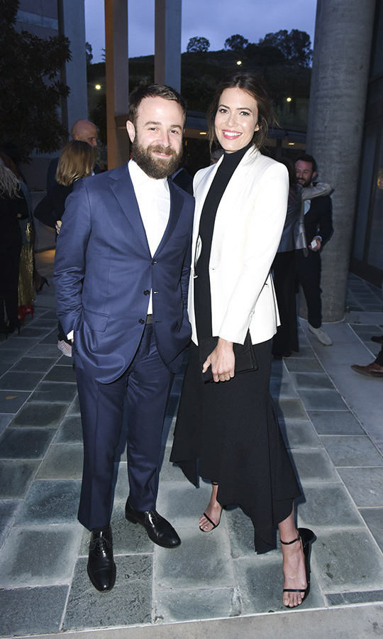 <h2>Mandy Moore and Taylor Goldsmith</h2>