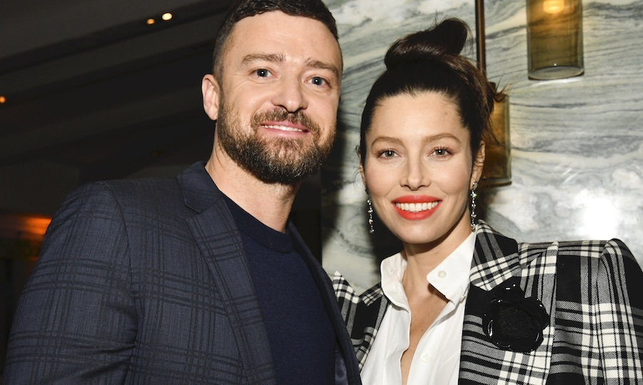 <h2>Justin Timberlake and Jessica Biel</h2>