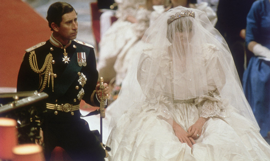 The wedding of Princess Diana and Prince Charles was teased in the trailer for season four of The Crown. Photo: © Hulton Archive/Getty Images