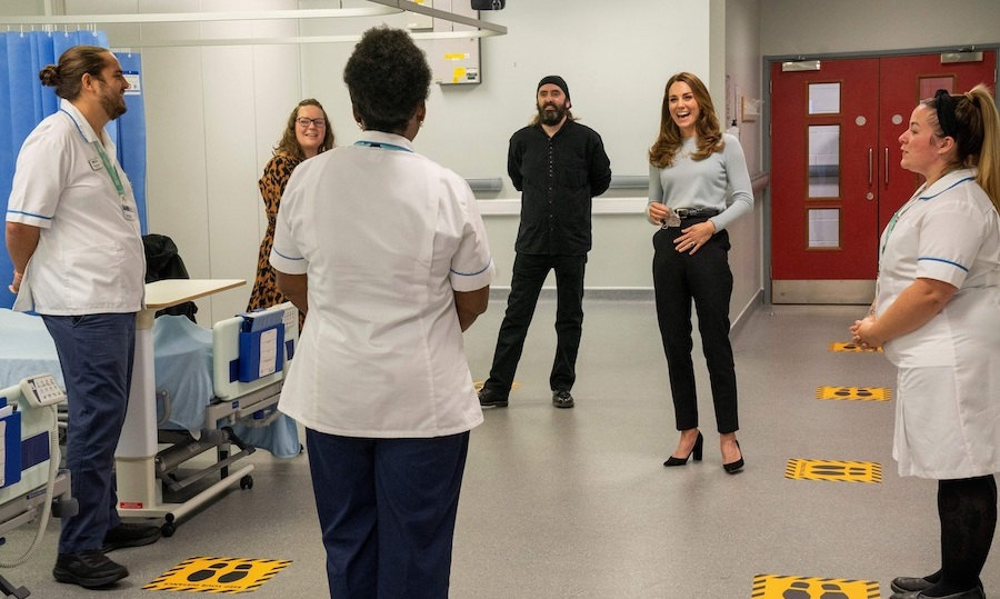 <strong><a href=/tags/0/kate-middleton>Duchess Kate</a></strong> has always been a big supporter of mental health initiatives, and she made an important visit to the University of Derby on Oct. 6 to hear how students have been coping with the <strong><a href=/tags/0/covid-19>COVID-19</a></strong> pandemic. 