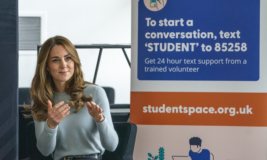 Kate also wanted to make sure students knew about <a href=http://www.studentspace.org.uk>Student Space</a>, an initiative that gives young people at university and college 24 hour support via text messages. 