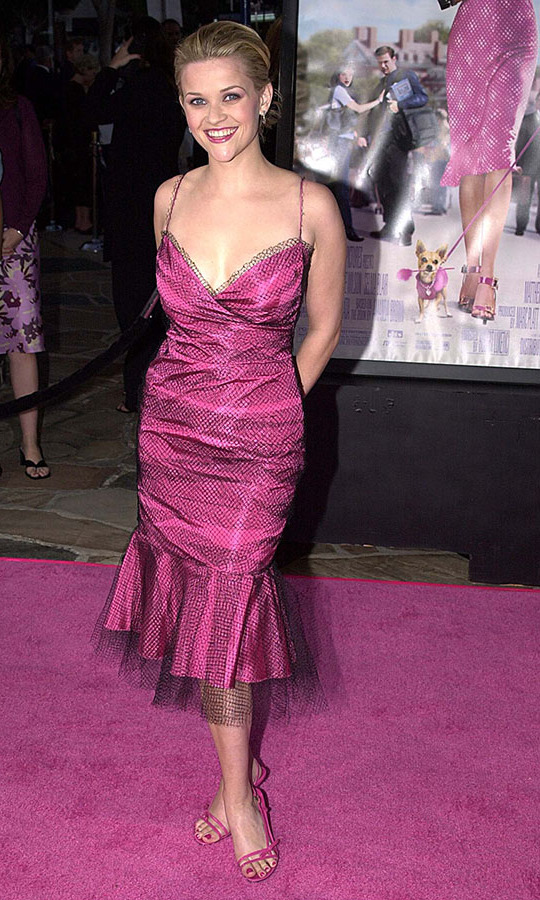 Reese Witherspoon at the premiere of Legally Blonde in June 2001. Photo: © Jeff Kravitz/FilmMagic