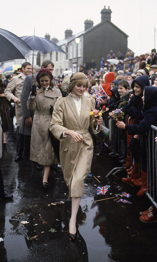 <h2>Princess Diana in Wales, 1981</h2>