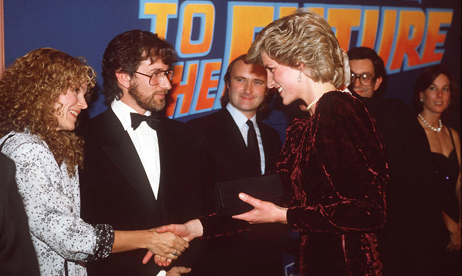 <h2><em>Back To The Future</em> premiere, 1985</h2>