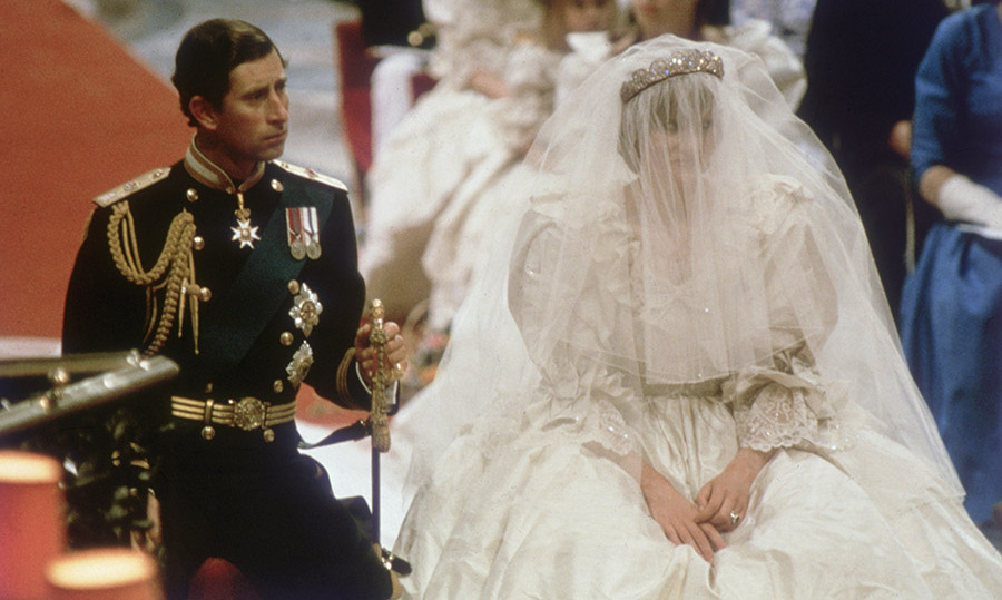 <h2>The royal wedding of Prince Charles and Princess Diana, 1981</h2>