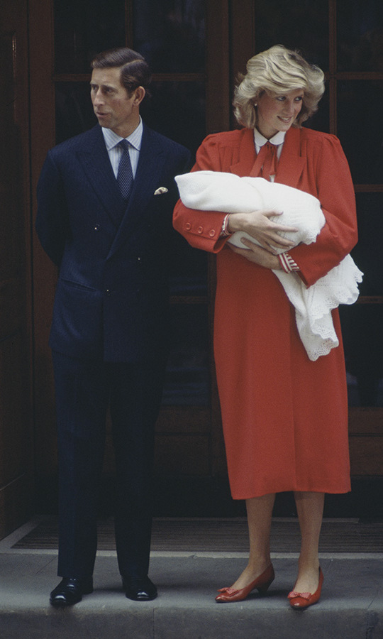 <h2>Prince Harry's birth, 1984</h2>