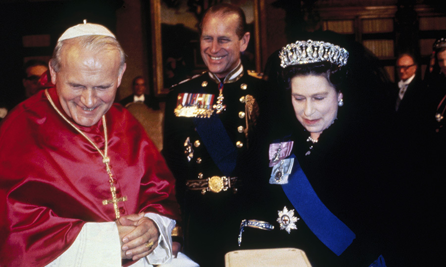 <h2>Royals Meet With The Pope, 1980</h2>