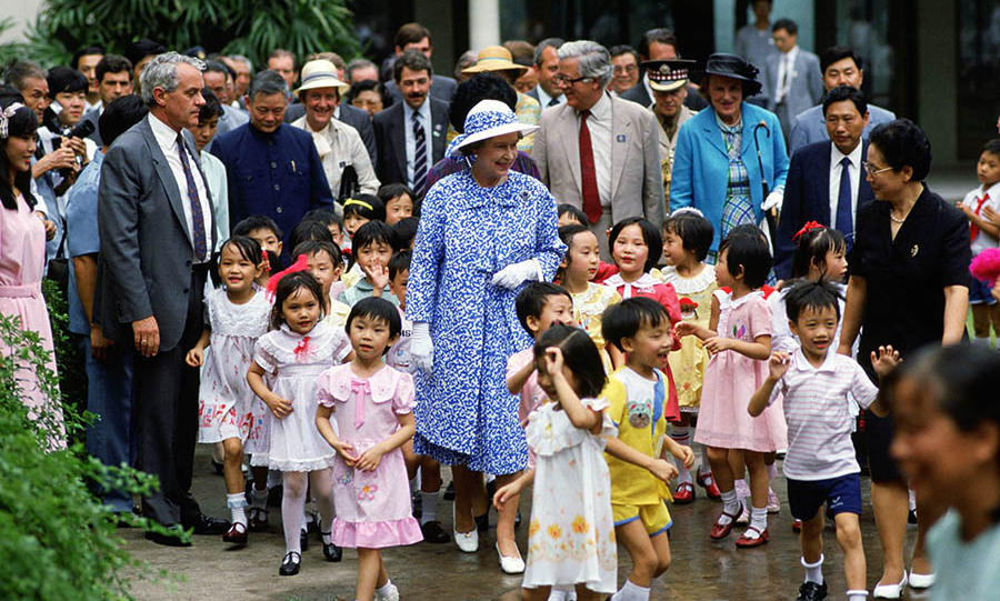 <h2>Royal tour of China, 1986</h2>