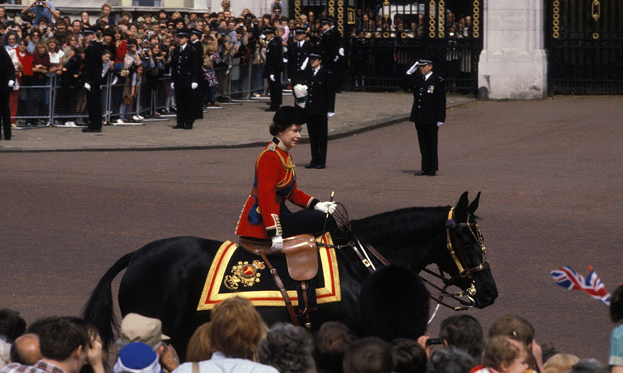 <h2>Shots fired at Trooping The Colour, 1981</h2>
