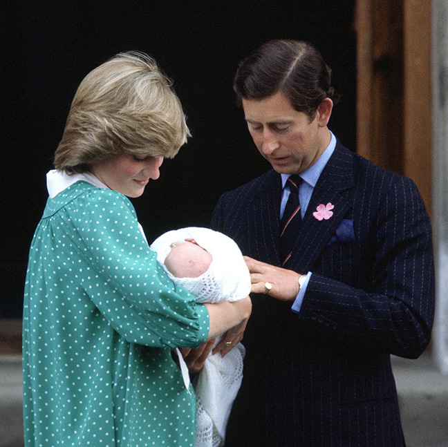 <h2>The birth of Prince William, 1982</h2>