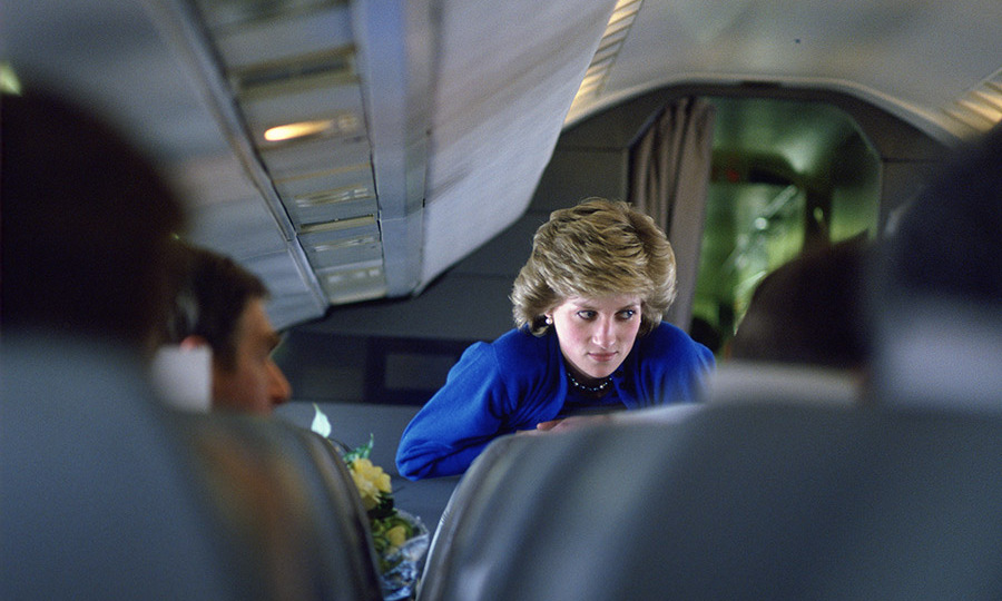 <h2>Princess Diana's flight on the Concorde, 1986</h2>
