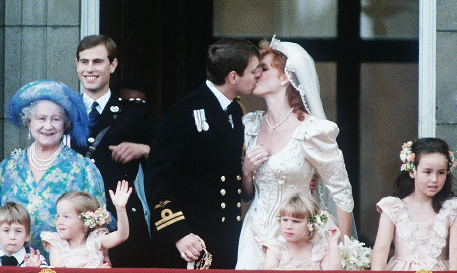 <h2>The royal wedding of Prince Andrew and Sarah Ferguson, 1986</h2>