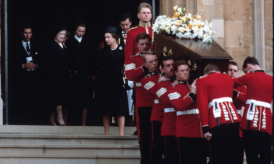 <h2>Lord Mountbatten's Funeral, 1979</h2>