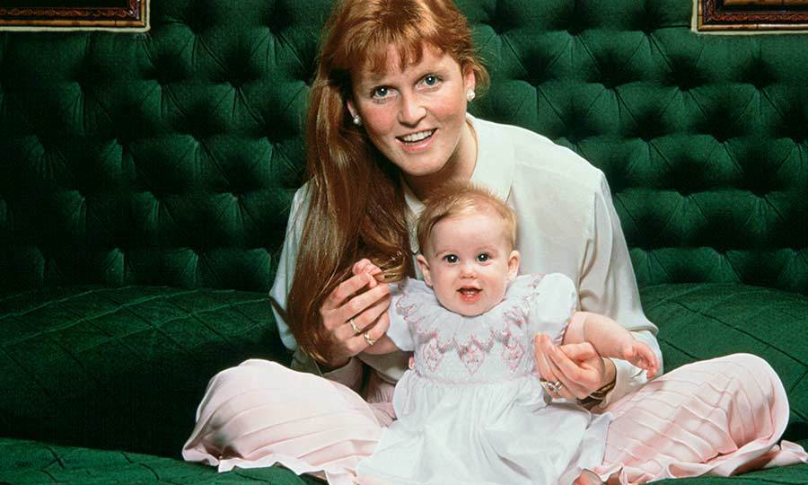 <h2>The birth of Princess Beatrice, 1988</h2>