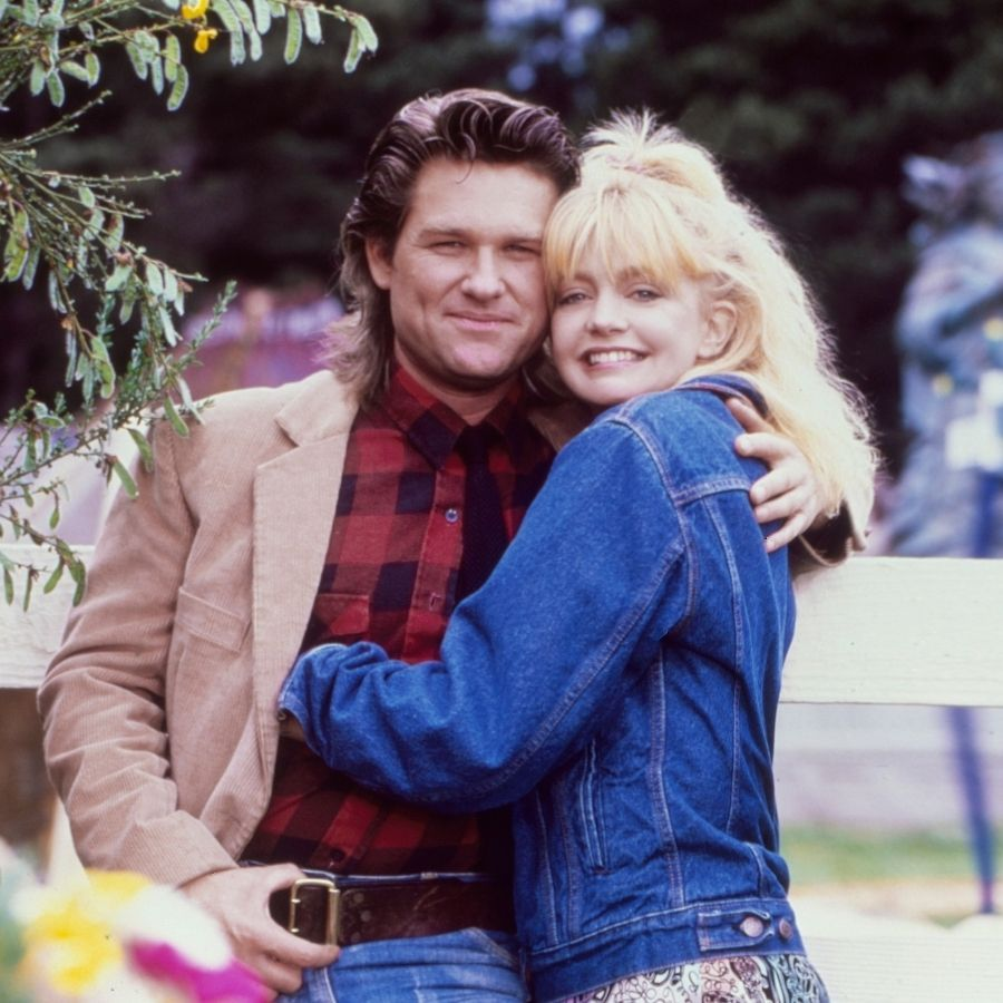 At 39, twice-divorced Goldie couldn't believe her luck when she reconnected with an actor six years her junior while filming 1984's <i>Swing Shift</i>.