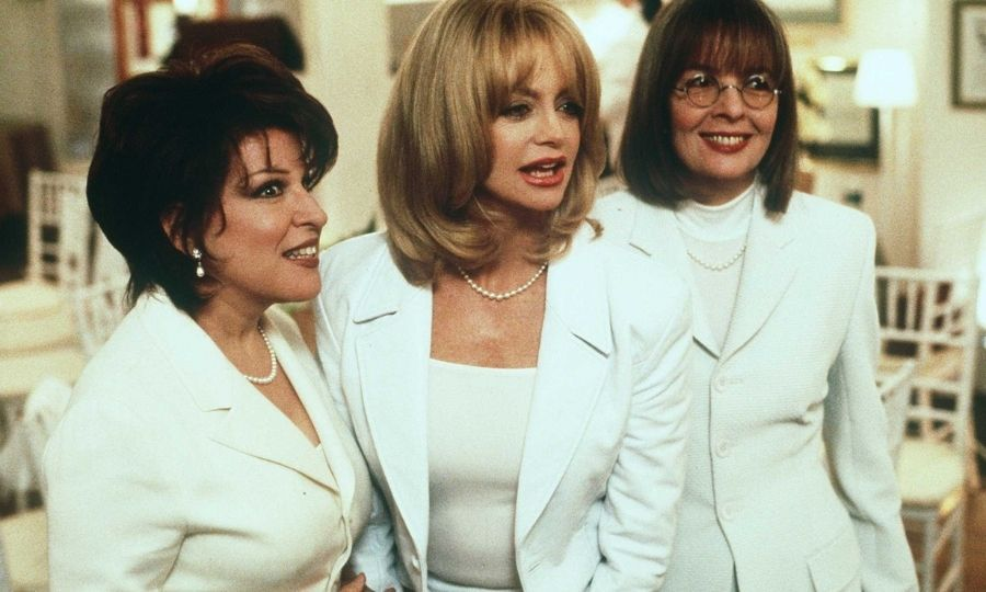 "In the 1990s, Goldie dazzled opposite fellow legends like <Strong><a href=/tags/0/meryl-streep>Meryl Streep</a></strong> in <i>Death Becomes Her</i> and in <i>The First Wives Club</i> with <Strong><a href=/tags/0/diane-keaton>Diane Keaton</a></strong> and <strong>Bette Midler</strong>. She disproved her line in that film: ""There are only three ages for women in Hollywood: Babe, District Attorney and Driving Miss Daisy.""