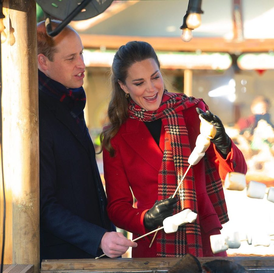 <a href=/tags/0/prince-william><strong>Prince William</a></strong> and <Strong><a href=/tags/0/kate-middleton>Duchess Kate</a></strong> are on a whirlwind two-day tour of Scotland, England and Wales to thank essential workers for everything they've done during this difficult year.