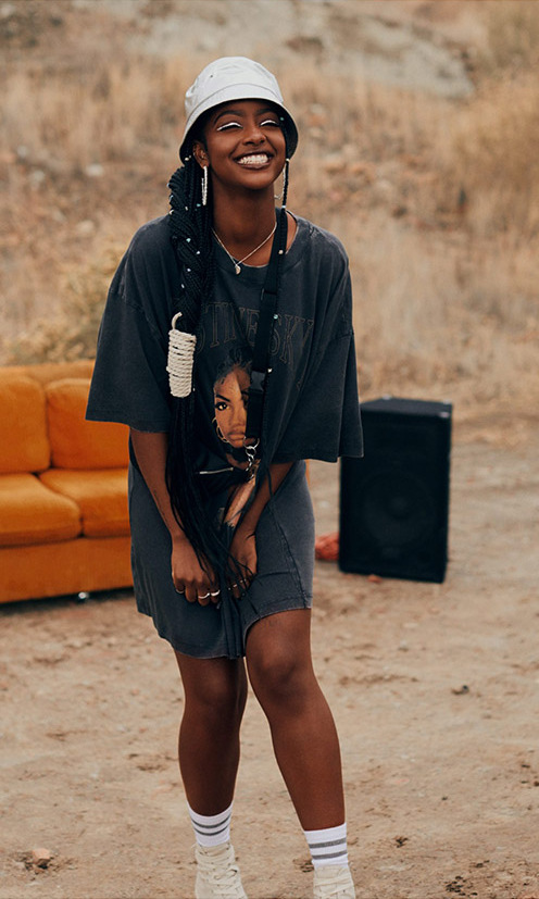 <h2>Justine Skye x H&M</h2>
