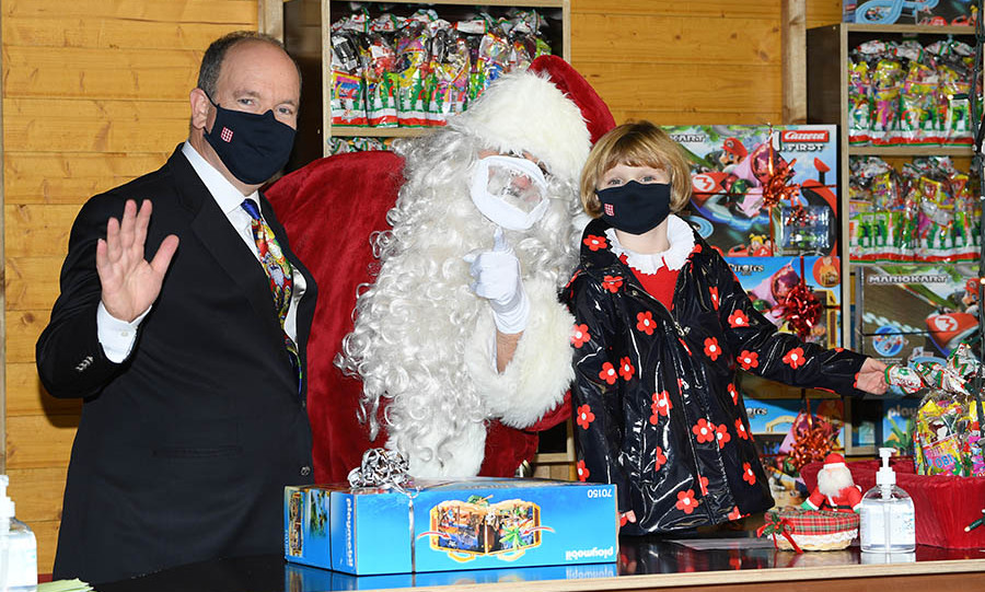 <h2>Prince Albert and Princess Gabriella</h2>