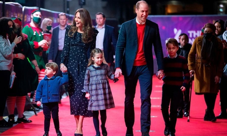 <h2>Prince William, Duchess Kate, Prince George, Princess Charlotte and Prince Louis</h2>