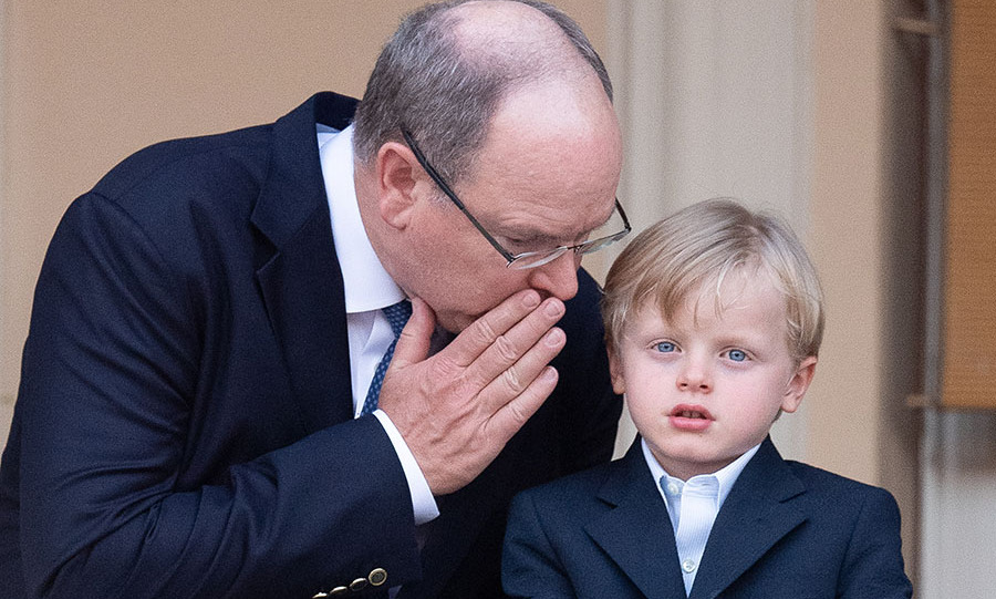 <h2>Prince Albert and Prince Jacques</h2>
