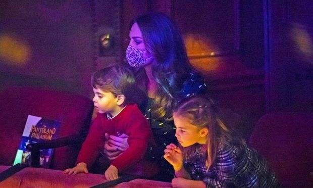 <h2>Duchess Kate, Prince Louis and Princess Charlotte</h2>