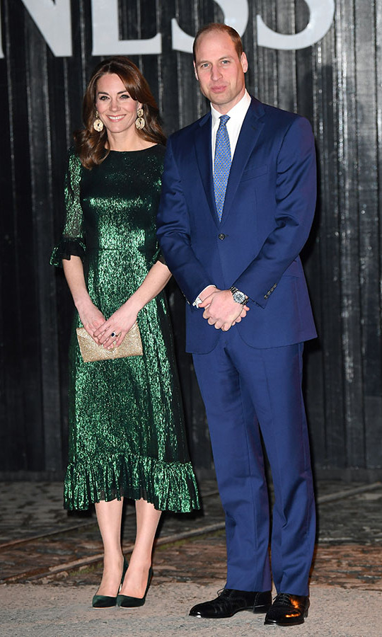 On March 3, the <a href=/tags/0/prince-william-and-kate><strong>Duke and Duchess of Cambridge</strong></a> visited the Guinness Storehouse's Gravity Bar in Dublin during their royal tour of Ireland. 