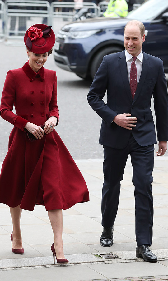 On March 9, Duchess Kate and Prince William stepped out to Westminster Abbey for <a href=/tags/0/commonwealth-day><strong>Commonwealth Day</strong></a> service. 