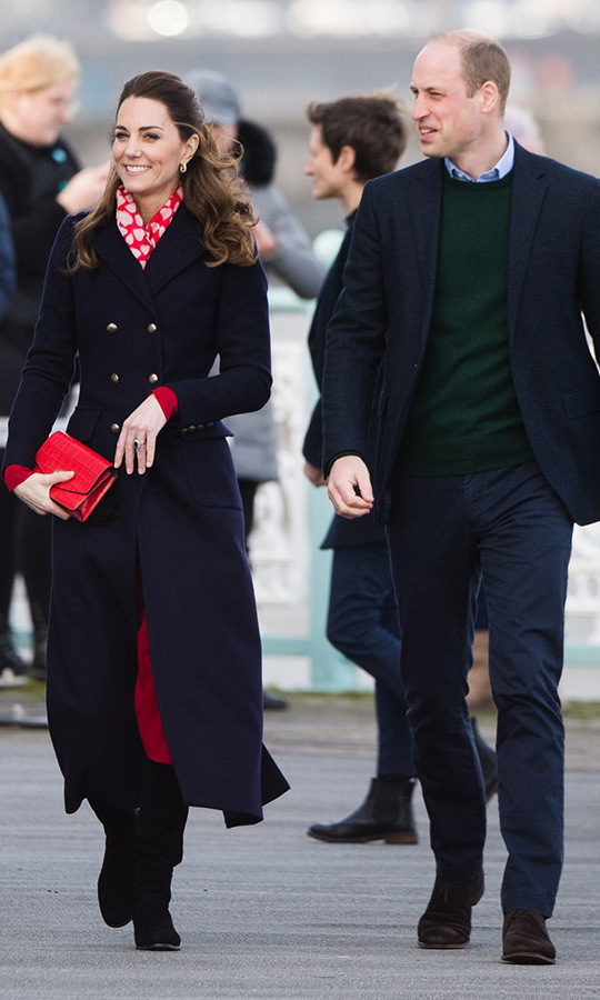 Duchess Kate brought some romance to Wales on Feb. 4.