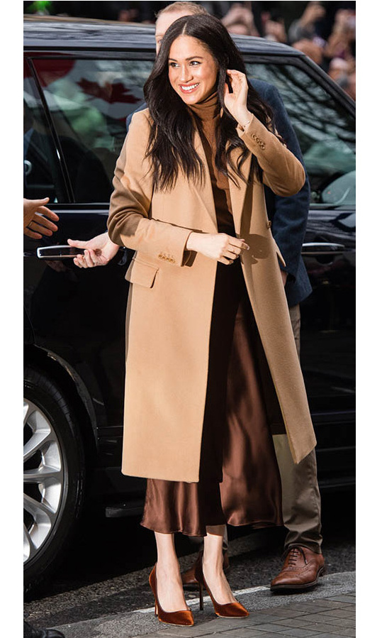 <a href=/tags/0/meghan-markle><strong>Duchess Meghan</strong></a> returned to work on Jan. 7 with a visit to Canada House in London.