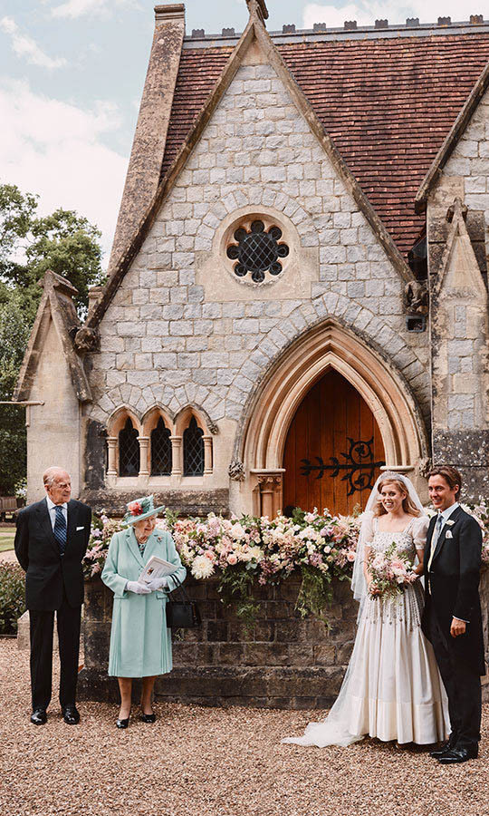 <strong><a href=/tags/0/princess-beatrice>Princess Beatrice</a></strong> and <strong><a href=/tags/0/edoardo-mapelli-mozzi>Edoardo Mapelli Mozzi</a></strong> wed in a private ceremony at All Saints Chapel in Great Windsor Park on July 17.