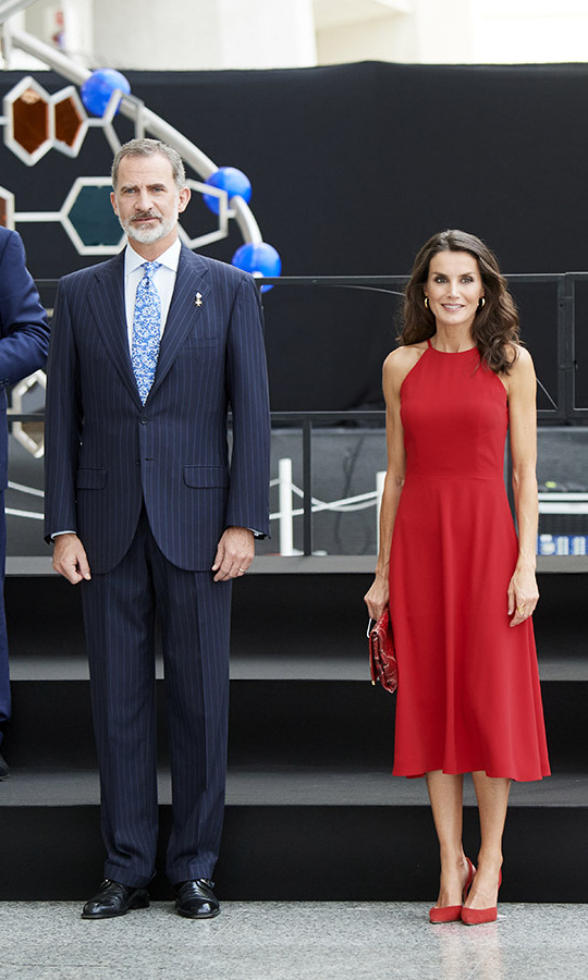 Letizia and  Felipe presided over the Innovation and Design National Awards at Ciudad de las Artes y las Ciencias (The City of Arts and Sciences) on July 3 in Valencia. 