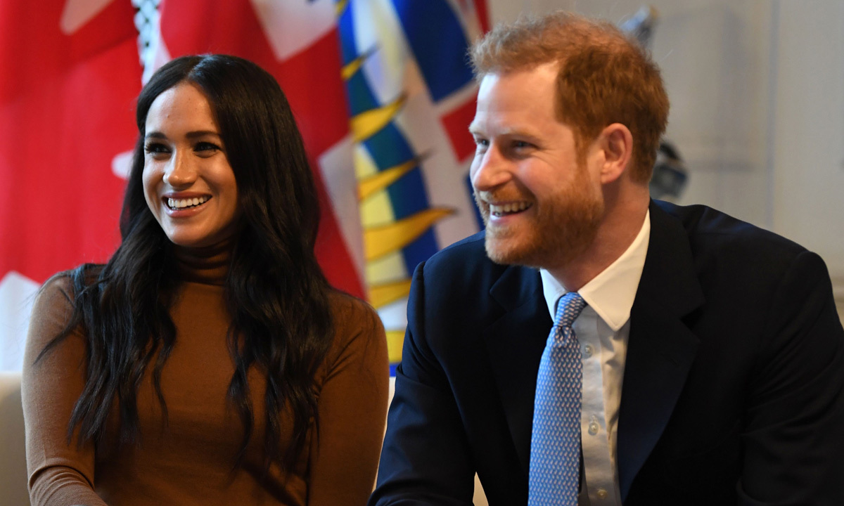 <h2>No. 10 (tie): Prince Harry and Meghan stepping down as senior members of the Royal Family</h2>