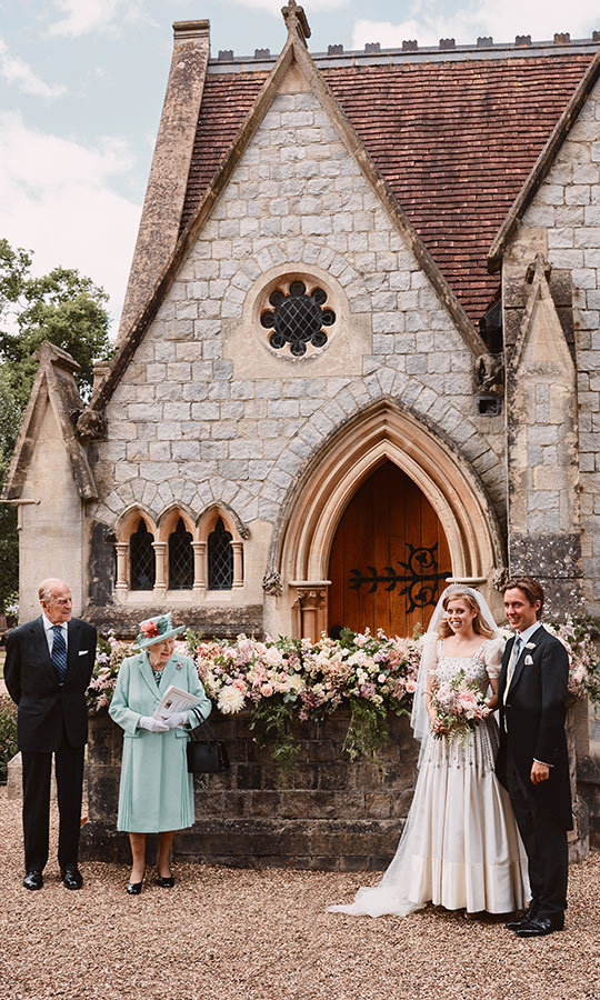 <h2>No. 2: Princess Beatrice and Edoardo Mapelli Mozzi's wedding</h2>