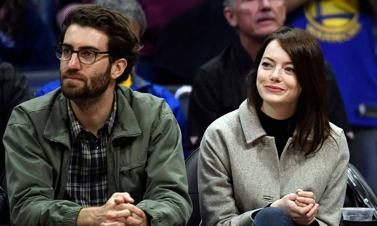 <h2>Emma Stone and Dave McCary</h2>