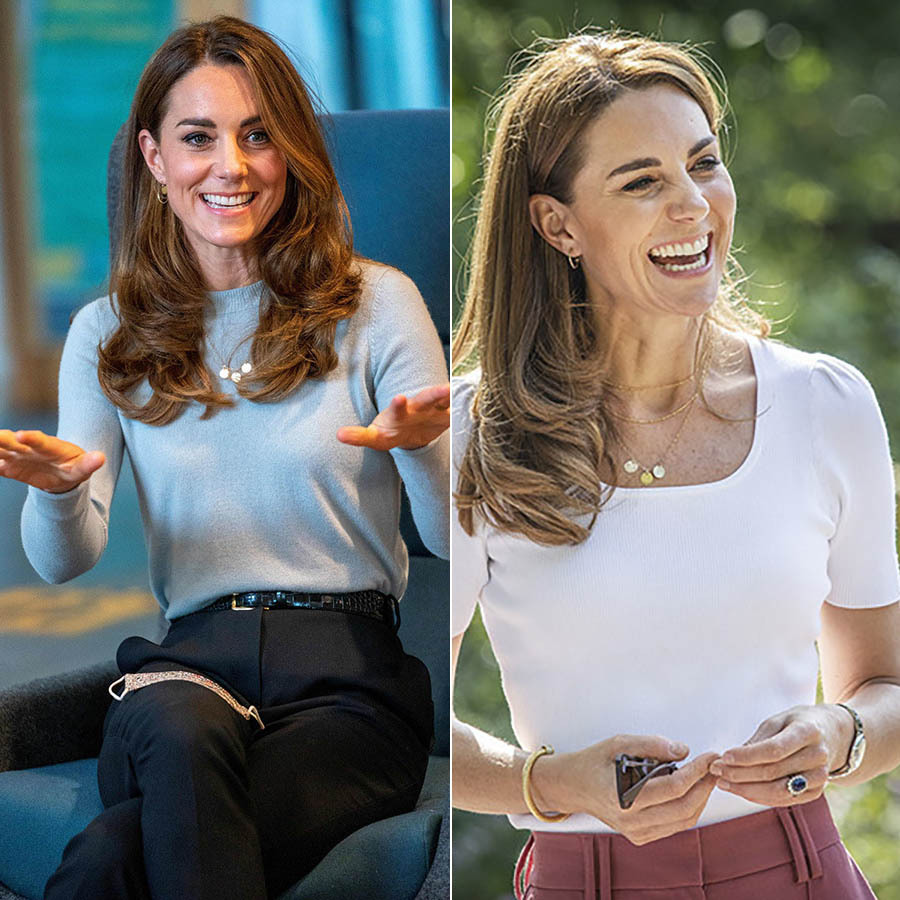 Duchess Kate loves to re-wear her pieces of jewelry, too.