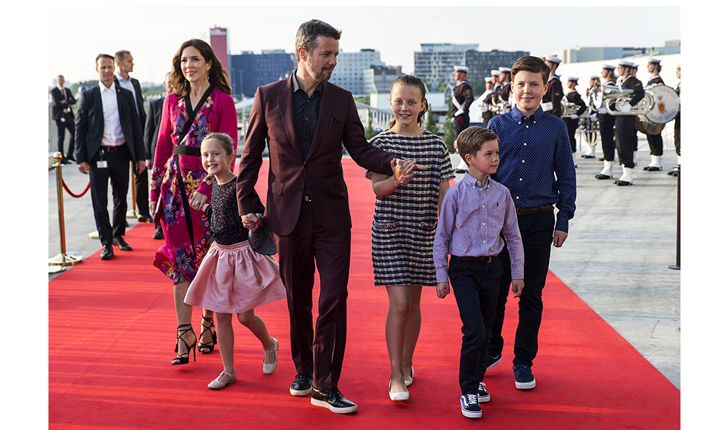 On May 27, 2018, the Danish royals walked the red carpet during a special live broadcast of the TV show <em>All of Denmark Celebrates The Crown Prince</em> for Frederik's milestone birthday. 