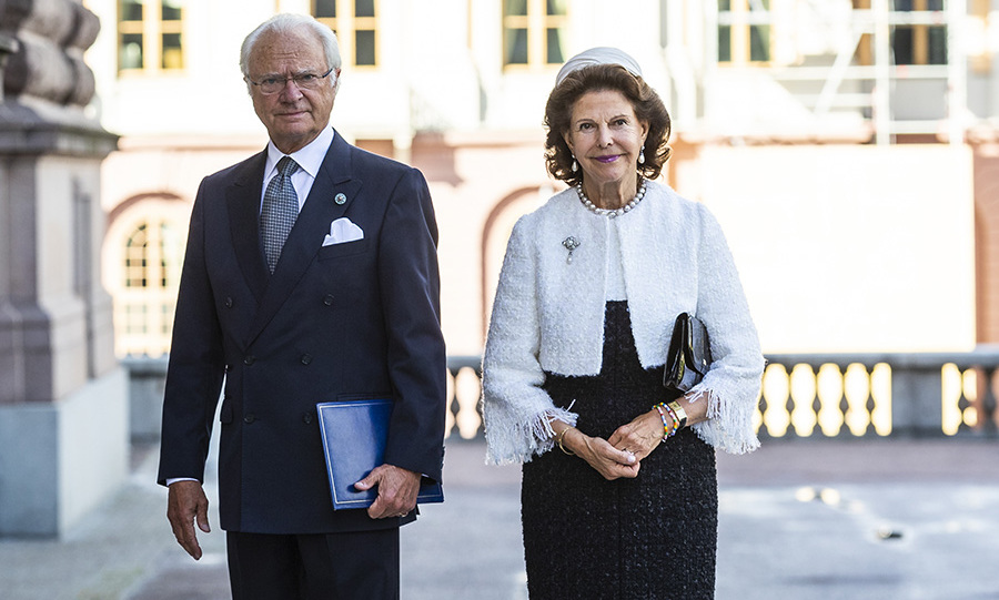 <h2>King Carl XVI Gustaf and Queen Silvia of Sweden</h2>
