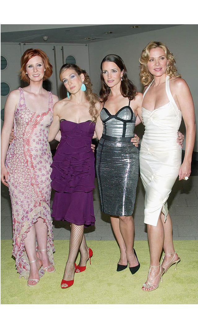 <h2><em>Sex and the City</em>  Party, 2003</h2>