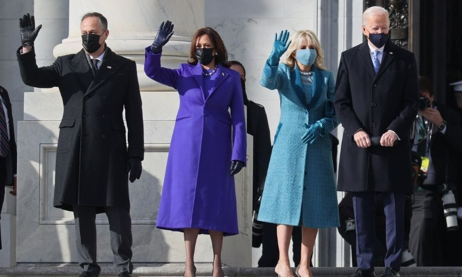 <Strong><a href=/tags/0/joe-biden>Joe Biden</a></strong> and <strong><A href=/tags/0/kamala-harris>Kamala Harris</a></strong> were sworn in as U.S. president and vice president on Jan. 20 in a star-studded ceremony on Capitol Hill in Washington, D.C.