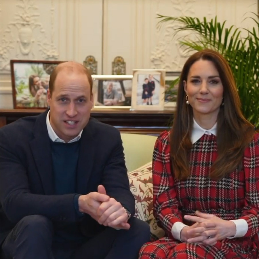 The <a href=/tags/0/prince-william-and-kate><strong>Duke and Duchess of Cambridge</strong></a> celebrated Burns Night on Jan. 25 in a video call with front-line workers at Ninewells Hospital in Dundee.